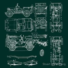 http://www.redbubble.com/people/stuartist/works/2617091-jeep-blueprint?p=t-shirt
