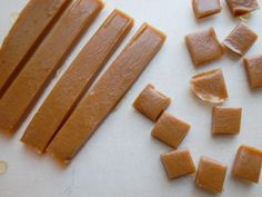 Maple syrup caramels recipe. Be sure to use Vermont Maple Syrup!  :)