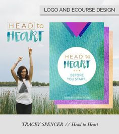 Head to Heart by Tracey Spencer - eCourse Design by Alana Wimmer | Raspberry Stripes