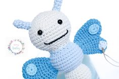 Crochet Toys, Hello Kitty, Etsy, Unique Jewelry, Handmade Gifts, How To Make, Shop, Amigurumi, Baby Rattle