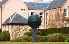 My slate & glass sculpture 'Light' at Cawdor Castle looked great in the winter sun yesterday.