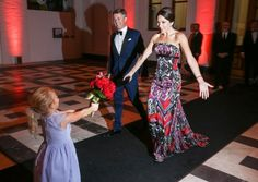 Crown Prince Frederik and Crown Princess Mary participated in The Grand Ball in the Smithsonian American Arts and Industries Building with the business delegation, local partners, selected American politicians and representatives of the Danish embassy on September 28, 2016 in Washington, DC.
