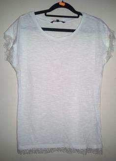 Kup mój przedmiot na #vintedpl http://www.vinted.pl/damska-odziez/bluzki-z-krotkimi-rekawami/11294039-blala-bluzeczka-koronki-top-secret