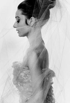 {Audrey Hepburn; photo by Bert Stern; 1963}