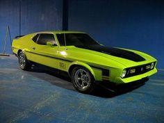 '72 Mach-1 Mustang