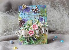 Чудеса скрапбукинга: волшебный мир открыток Ольги Кайновой - Ярмарка Мастеров - ручная работа, handmade