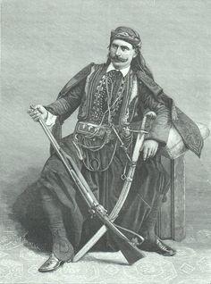A Bedirxani Kurd of the Kurdish Noble Family Bedirxan, 1889.
