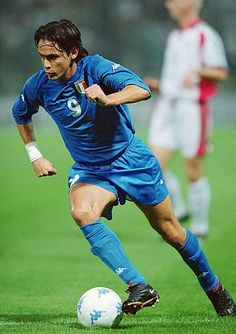 Filippo Inzaghi - my very first favorite, if I remember correctly..