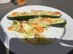 Gefüllte Zucchini - VEGAN und ohne Soja