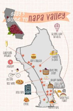 Gaby's Guide to Napa - What's Gaby Cooking San Francisco San Diego, San Francisco, Napa Sonoma, Sonoma Valley, Sonoma County, Big Sur, Lake Tahoe, Cities, All I Ever Wanted
