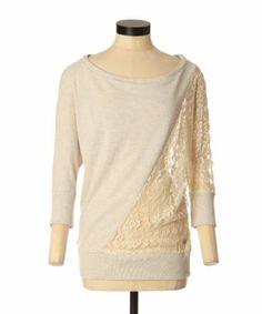 Kismet jenna lace   oatmeal melange Oatmeal, Tunic Tops, Lace, Women, Fashion, The Oatmeal, Moda, Women's, La Mode