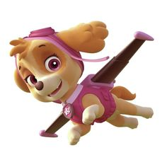 RoomMates Paw Patrol Skye Peel and Stick Giant Wall Decals *** Find out more about the great product at the image link. (This is an affiliate link) Doc Mcstuffins, Disney Mickey Mouse, Dinosaur Kids Room, Paw Patrol Costume, Wall Appliques, Bow Template, Use E Abuse, Peel And Stick Vinyl, Party