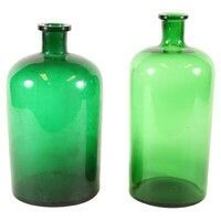 French apothecary bottles