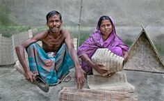 https://flic.kr/p/HkLZm   A New Family Business   Jamalpur Province, Bangladesh, 14 Sept 2006  This couple in Gandail village is also the recipient of the World Bank Social Investment Program Project which helped them set up a small business, in this case basket weaving from locally grown reeds.