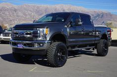 56 Most Amazing Powerful Ford Super Duty Pictures - Awesome Indoor & Outdoor Lifted Ford Trucks, Gmc Trucks, Diesel Trucks, Pickup Trucks, Dodge Diesel, Trucks Only, Cool Trucks, Gta, Custom Wheels And Tires
