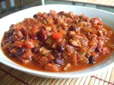 Crock Pot Vegetarian Chili- Core Recipe; Flex=2pts (aprx 2 cups) | BigOven