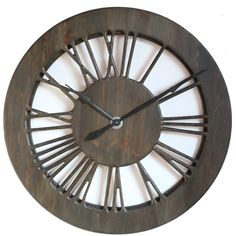 Awesome This Most Beautiful Large Tudor Skeleton Wall Clock Is Carefully Designed  To Provide A Strong Statement
