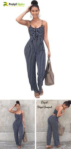 34c87d9e4970 Shop Backless Stripe Jumpsuit Online From Prolyfstyles.com