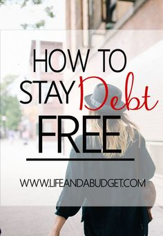 Getting out of debt surely presented it's challenges, but it's nothing but the beginning. The hard part is knowing how to stay out of debt and I have a little bit of information to help you in this effort. Pin now so you can stay out of debt later!