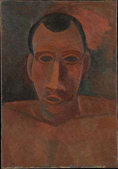 Bust of a Man      Add to MyMet     Share     Permalink  Bust of a Man Pablo Picasso (Spanish, Malaga 1881–1973 Mougins, France ) Date: 1908 Medium: Oil on canvas