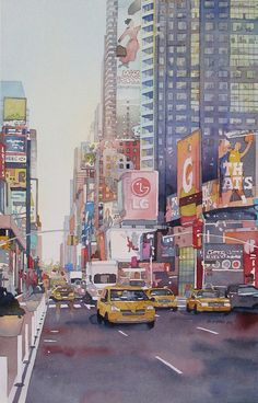 Times Square by Don Gore