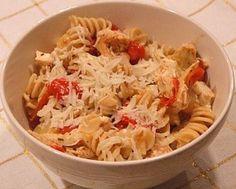 Greek Chicken Pasta Recipe | Recipe Girl