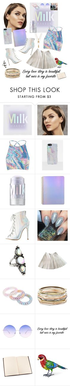 """Is the best"" by ericjen8685 ❤ liked on Polyvore featuring Jaded, Missguided, MILK MAKEUP, ban.do, Charlotte Russe, Accessorize, American Apparel, Forever 21, Kendra Scott and Skinnydip"