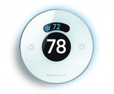 Honeywell originated the iconic round thermostat in 1953 with the T87. Honeywell is asserting its claim to the archetypal shape with the Lyric, a smart Wi-Fi connected thermostat.