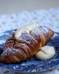 Acquolina: Croissants alla crema di zabaione