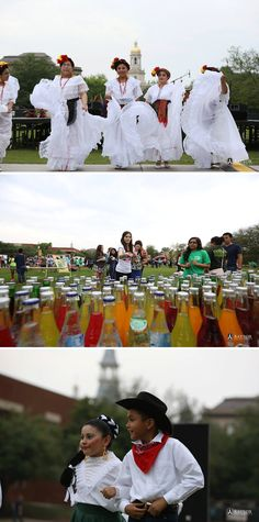 Baylor's annual Fiesta! & SalsaFest, sponsored by the Hispanic Student Association & SAE. Free tacos, aguas frescas, paletas, salsa, games, dancing and more on Fountain Mall -- what more could you want?