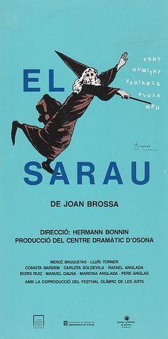 El sarau, de Joan Brossa. Teatre Poliorama. 1992.