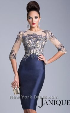 Janique 1502 Dress - NewYorkDress.com