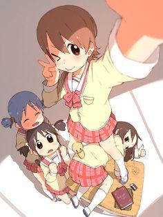 Nichijo High Grade Figure Hakase Keichi Arawi Kyo Ani Kyoto Animation