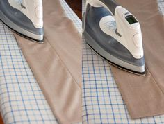 I have been doing it wrong.  Seriously never thought to pull the pocket linings out.