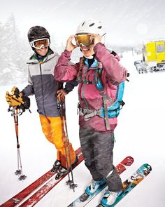Our Rush Jacket and Sabre Full Bib Pant in @Elevation Outdoors Magazine.