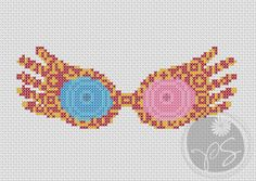 Luna Lovegood's Spectra Specs! My favorite Potter Head needs these!~