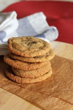 Chewy Vanilla Ginger Sugar Cookies