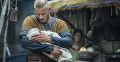 Bjorn (Alexander Ludwig),proud to be father of baby girl!