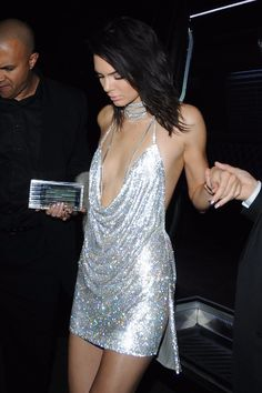 There's Not A Lot to Kendall's Sexy B-Day Dress — But It Took 7 Days to Make
