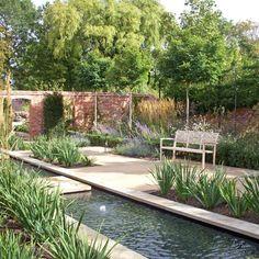 Suffolk contemporary courtyard garden sue townsend