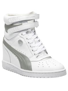 9daf9a0abef Puma Sneaker Wedge White Wedge Sneakers
