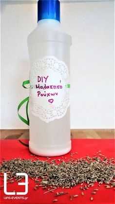 DIY υπέροχο μαλακτικό ρούχων - Life Events Oven Cleaning, Cleaning Hacks, Eco Cleaners, Stone Art, Soap Making, Clean House, Paper Dolls, Vodka Bottle, Diy And Crafts