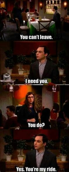 The Big Bang Theory | Amy and Sheldon | TBBT | Quotes