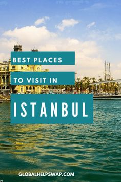 Get the most out your trip to Istanbul! Read our Places to visit in Istanbul post before visiting this wonderful vibrant city. Travel Articles, Travel Advice, Travel Guides, Travel Tips, Wanderlust Travel, Asia Travel, Solo Travel, Cool Places To Visit, Places To Travel
