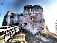 Hrad Uhrovec Abandoned Castles, Central Europe, Bratislava, Capital City, Slovenia, Homeland, Hungary, The Good Place, Ruins