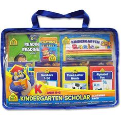 Delight your kindergartner with a big pack of non-stop learning fun! This Kindergarten Scholar Learning Pack includes four 32-page workbooks: Kindergarten Basics, Math Readiness, Reading Readiness, an