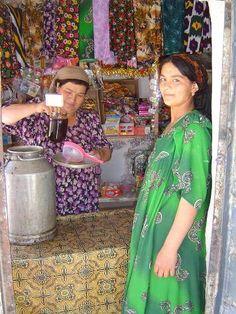 Little shop - Tajikistan