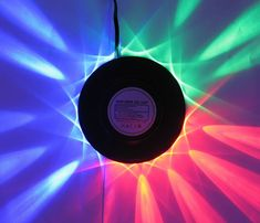Led tornado disco lamp