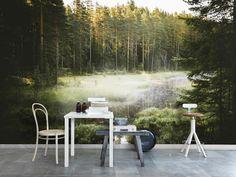 Behang The secret place #photowall #zweden #scandinavie