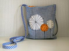 Dandelion pocket bag.